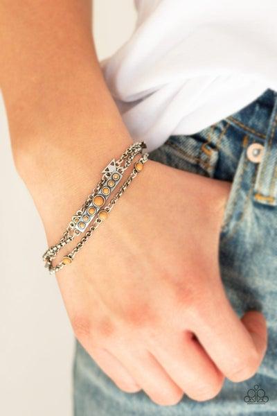 No Means NOMAD - Brown Clasp Bracelet