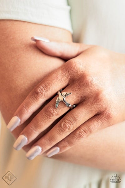 Totally TWEET-terpated - Silver Ring - June 2021 Fashion Fix
