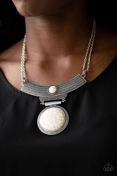 Lasting EMPRESS-ions - White Necklace