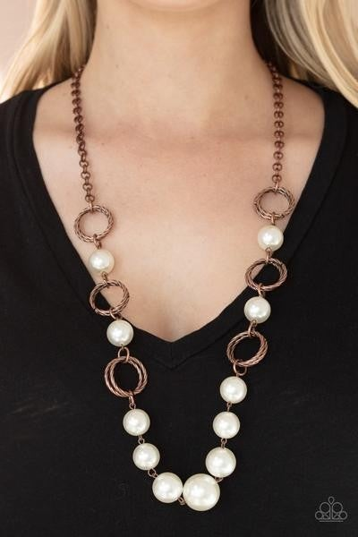 COUNTESS Me In - Copper Necklace