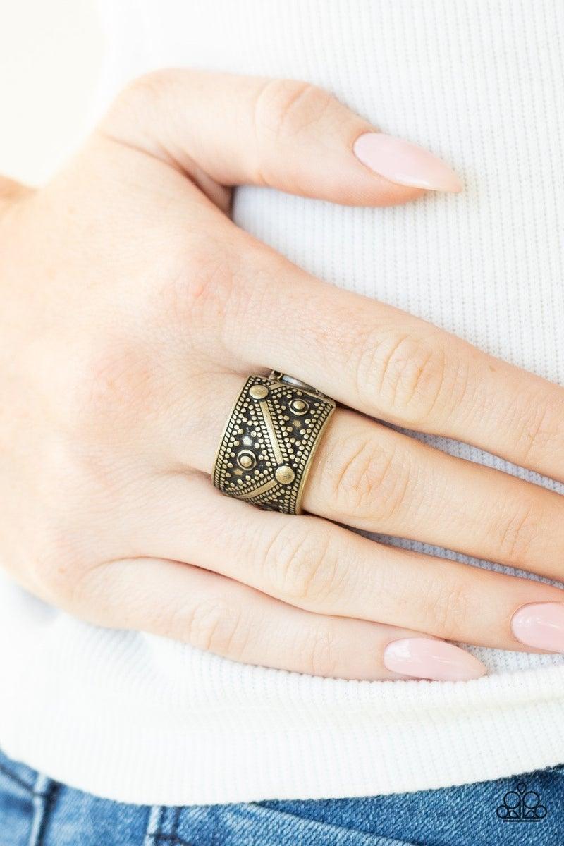 Primal Patterns - Brass Ring