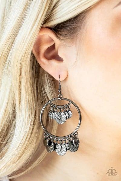 All CHIME High - Gunmetal Earrings