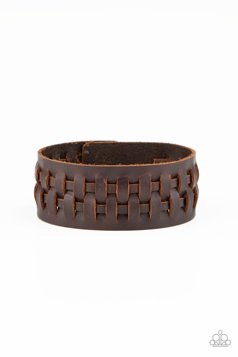 Country Life - Brown Urban Bracelet