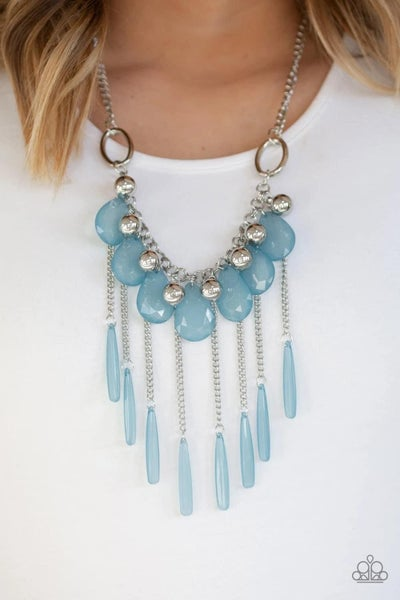 Roaring Riviera - Blue Necklace