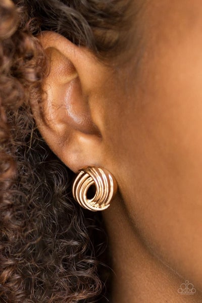 Rare Refinement - Gold Earrings