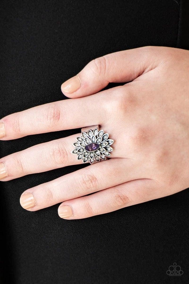 Blooming Fireworks - Purple Ring