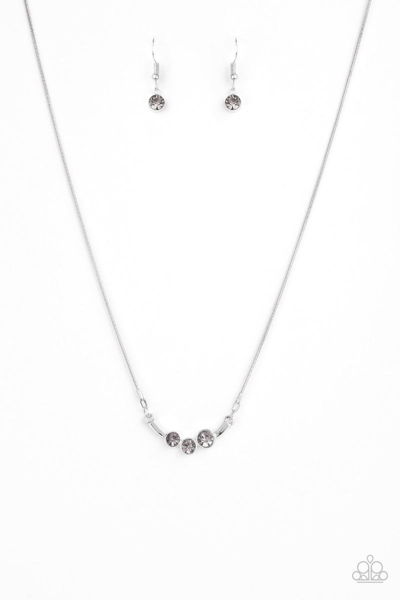 Sparkling Stargazer - Silver Necklace