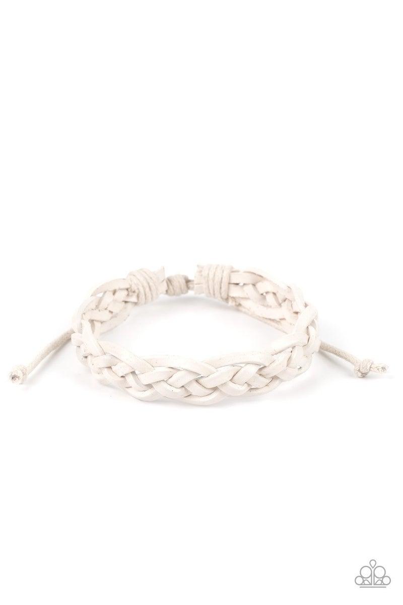Time To Hit The RODEO - White Urban Bracelet