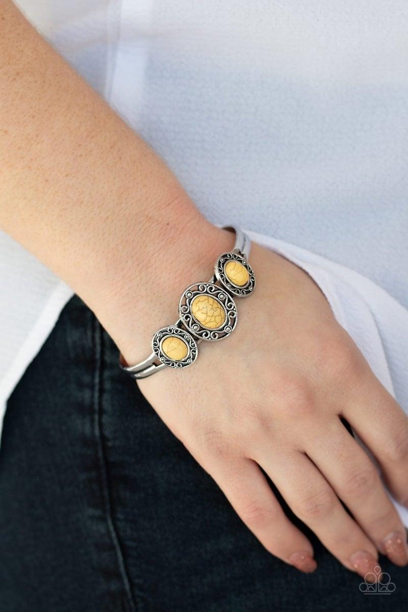 Stone Sage - Yellow Cuff