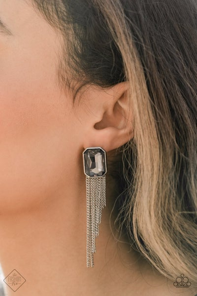 Save for a REIGNy Day - Silver Earrings