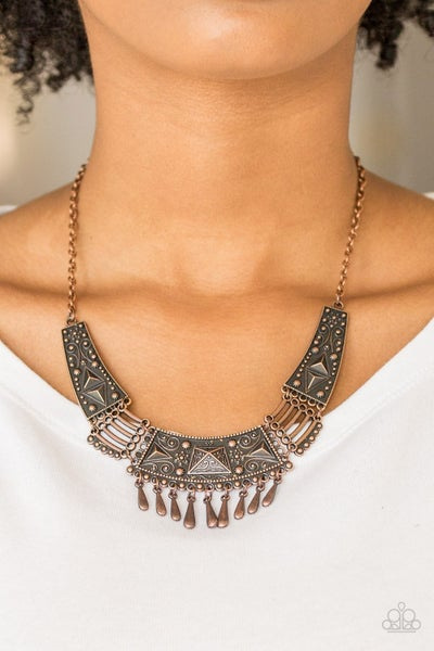 STEER It Up - Copper Necklace
