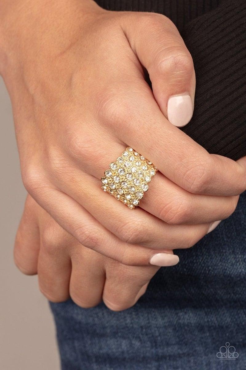 Million Dollar Masquerade - Gold Ring