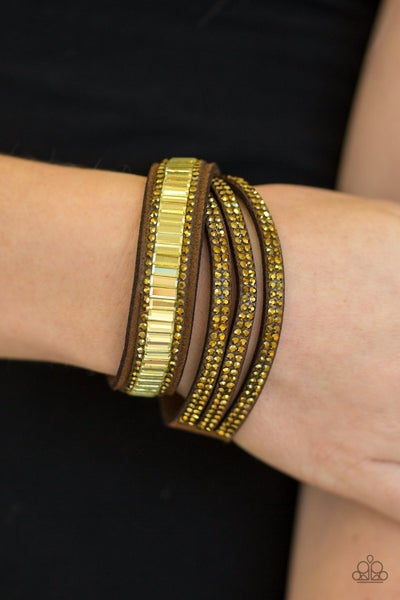 Just In SHOWTIME - Brass Snap Wrap