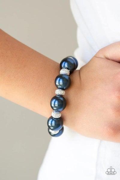 Extra Elegant - Blue Stretchy Bracelet