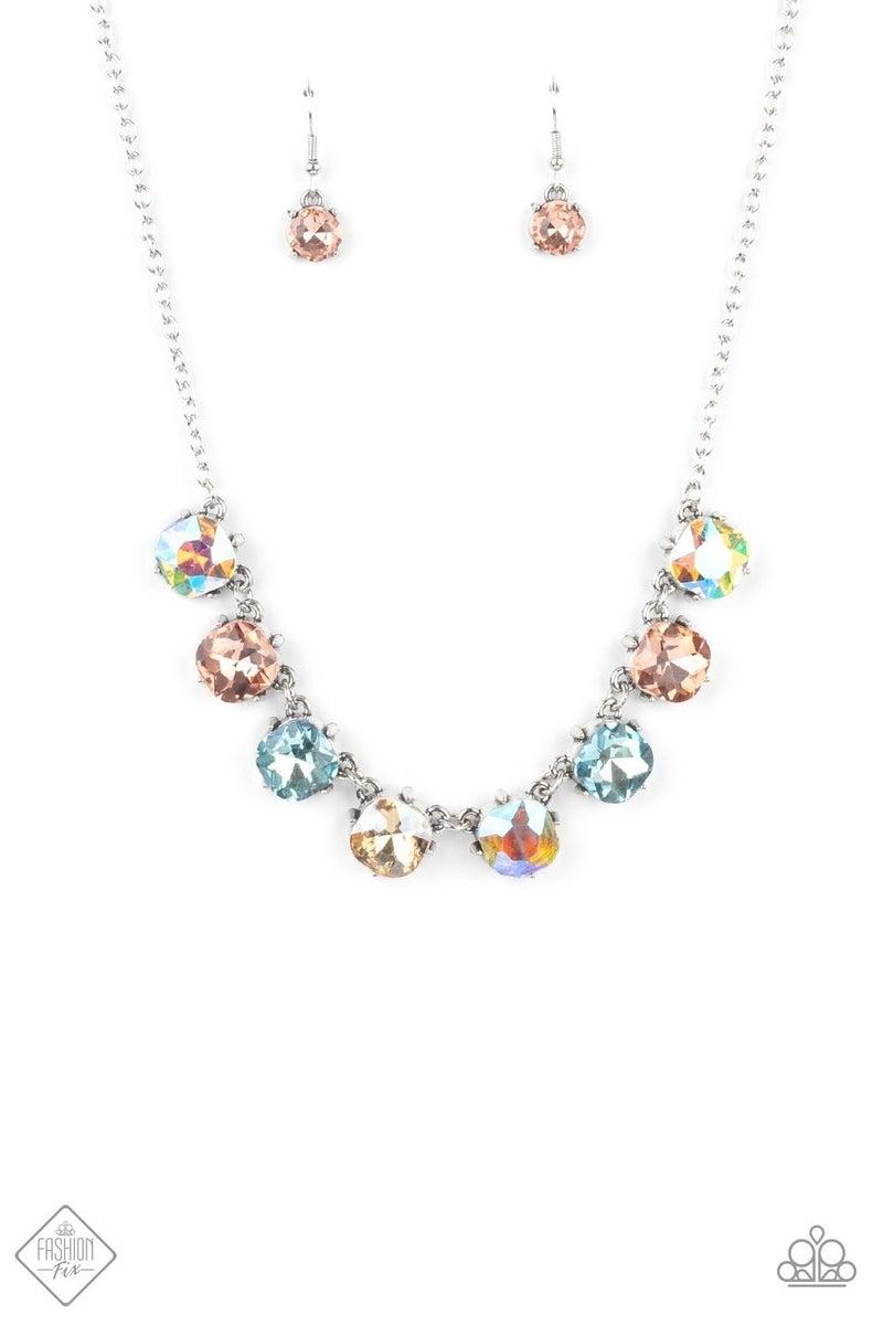 Dreamy Decorum - Multi Necklace - June 2021 Fashion Fix