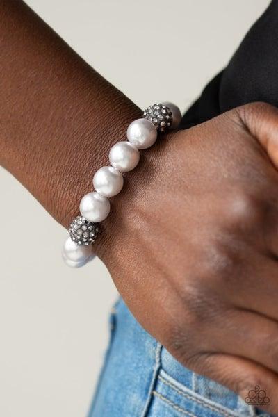 Cake Walk - Silver Stretchy Bracelet