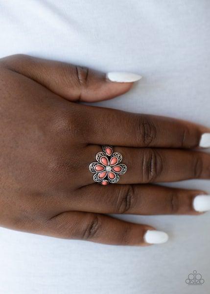 Fruity Florals - Orange Ring