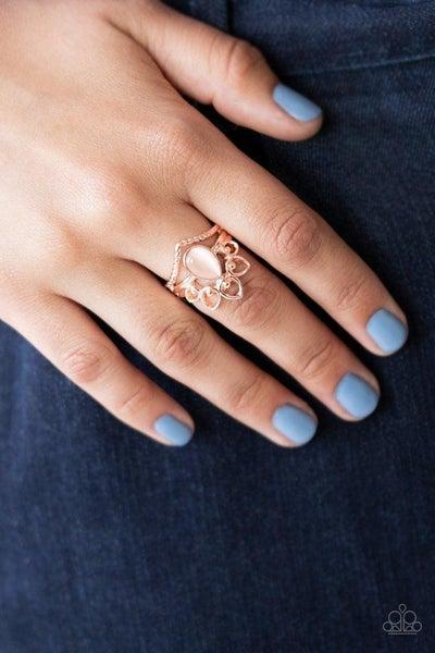 Serene Scene - Rose Gold Ring