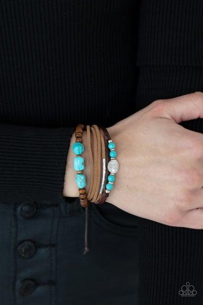 Act Natural - Blue Urban Bracelet