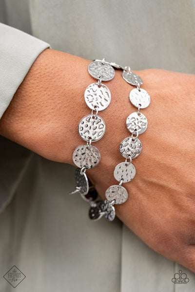 Rooted To The SPOTLIGHT - Silver Clasp Bracelet - February 2021 Fashion Fix