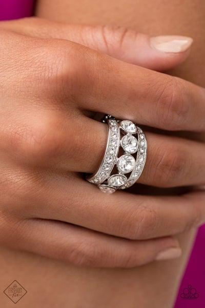 Princess Pedigree - White Ring - February 2021 Fashion Fix