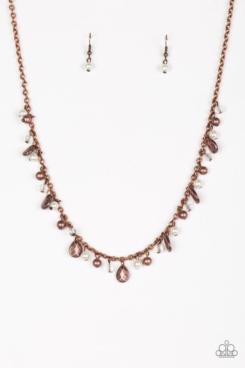 Spring Sophistication - Copper Necklace