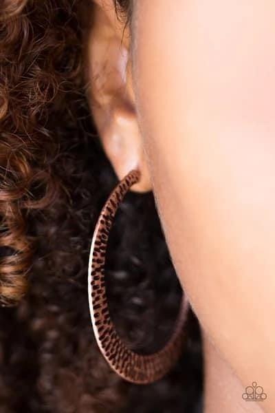 BEAST Friends Forever - Copper Hoop Earrings