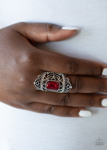 Undefinable Dazzle - Red Ring