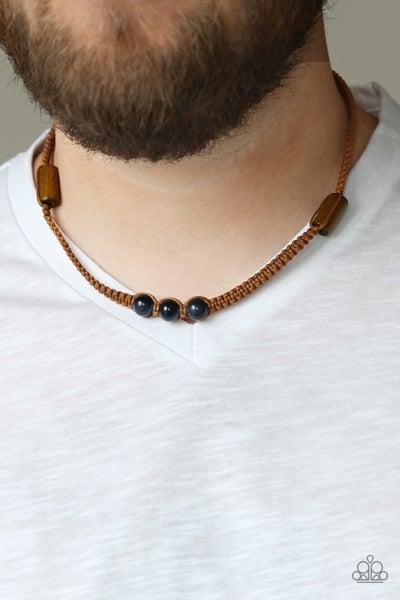Honolulu Hustler - Blue Urban Necklace