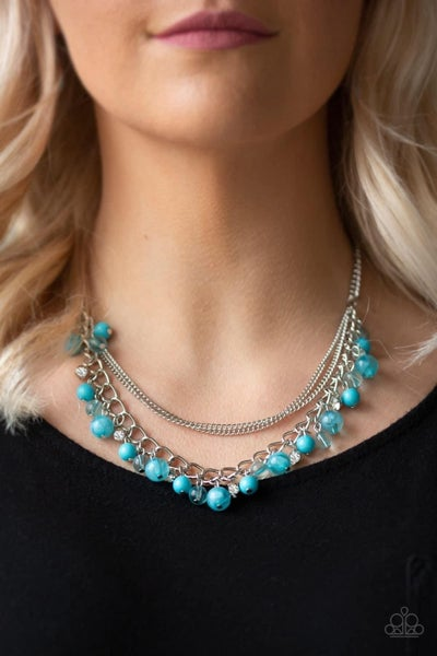 Wait and SEA – Blue Necklace