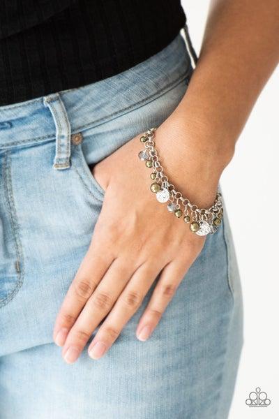 West Coast Wanderer - Green Clasp Bracelet