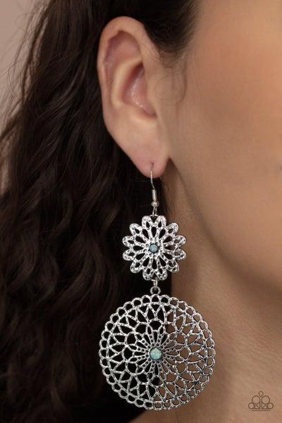 Garden Mantra - Blue Earrings