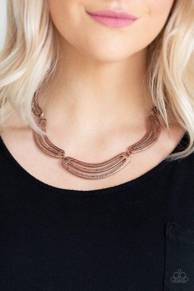 Palm Springs Pharaoh - Copper Necklace