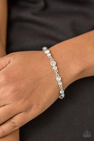 Twinkle Twinkle Little STARLET - White Clasp Bracelet