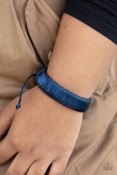 In a Flash - Blue Urban Bracelet