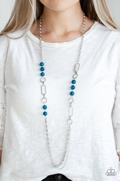 CACHE Me Out - Blue Necklace