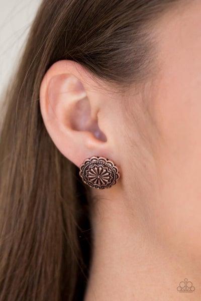Durango Desert - Copper Earrings