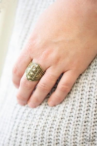 Texture Tracker - Brass Ring