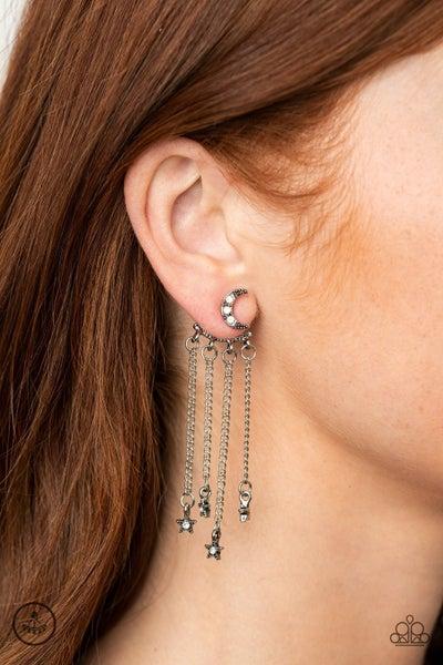 Cosmic Goddess - White Earrings