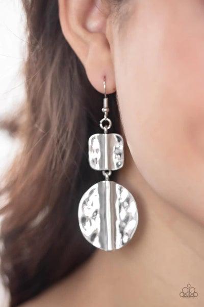 Lure Allure - Silver Earrings