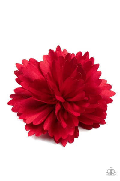 Picnic Posh - Red Hair Clip
