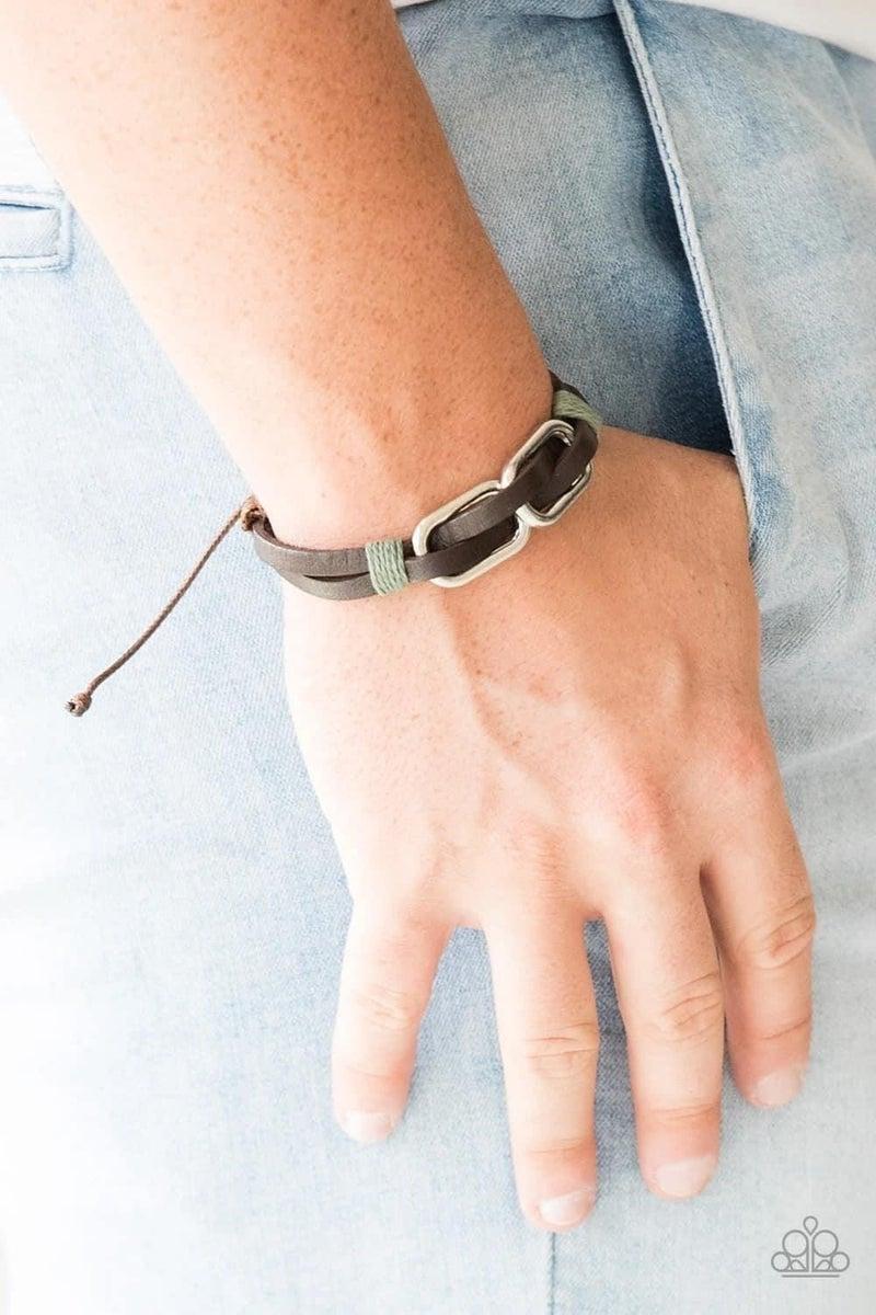 MOUNTAINEER Time Zone - Brown Urban Bracelet