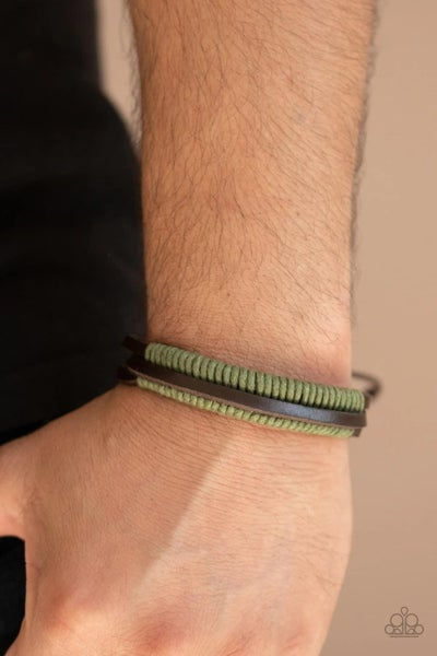 Rugged Roper - Green Urban Bracelet