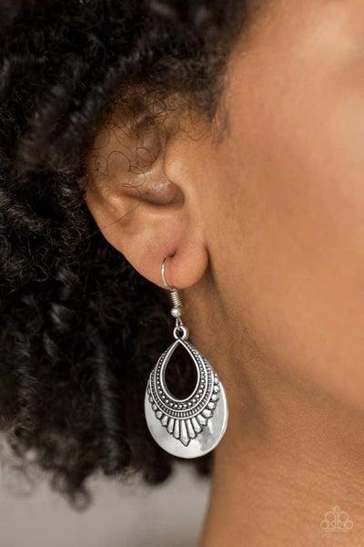 Totally Terrestrial - Silver Earrings