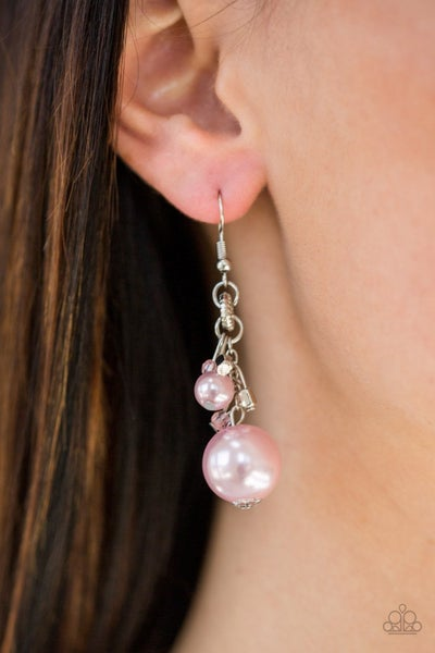 Timelessly Traditional - Pink Earrings