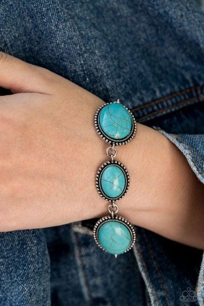 River View - Blue Clasp Bracelet
