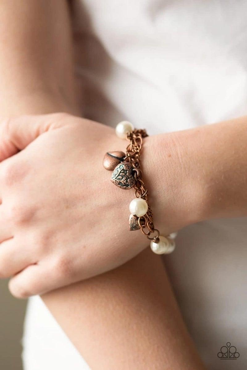 More Amour - Copper Stretchy Bracelet