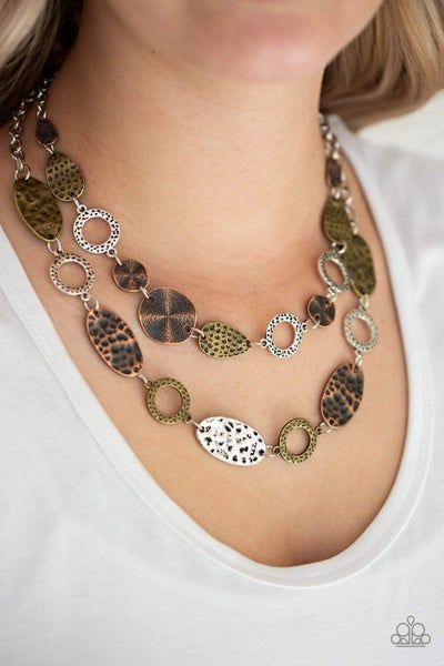 Trippin On Texture - Multi Necklace