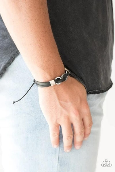 Off-Road Tourist - Black Urban Bracelet