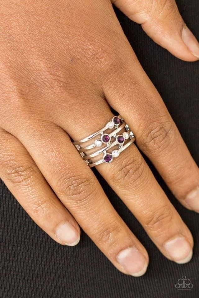 Sparkle Showdown - Purple Ring